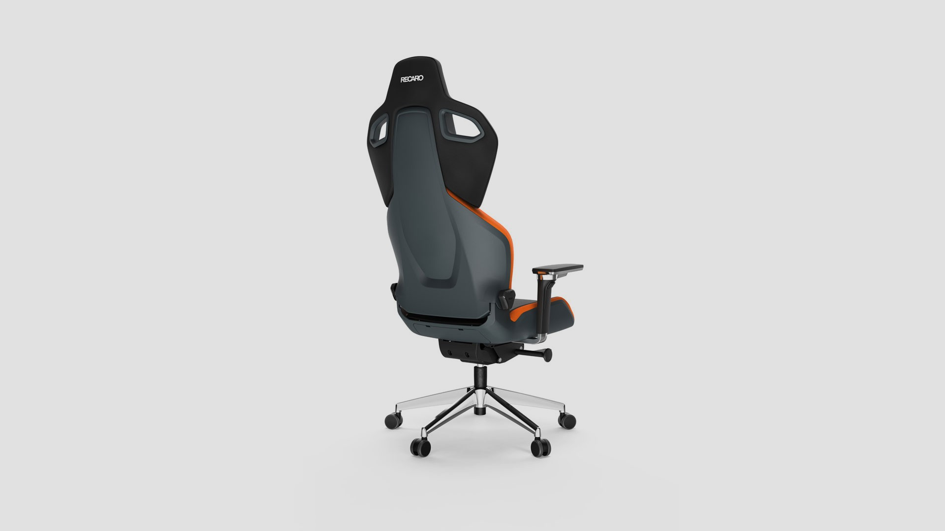 3D Design Recaro Sunset Orange ExoFX Rückseite