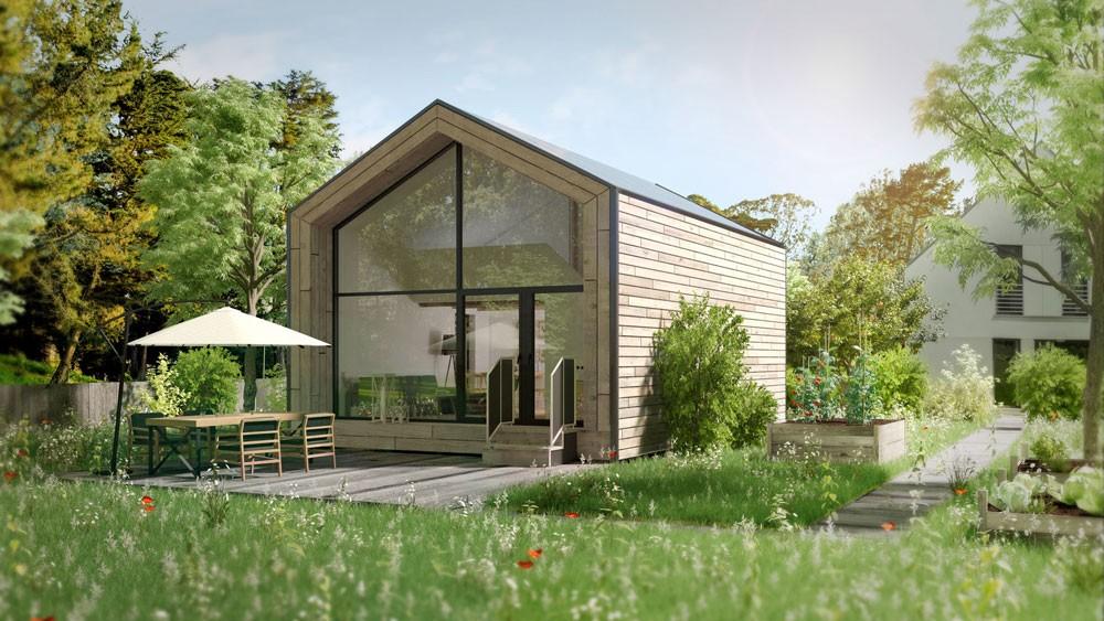 3d Visualisierung Tiny Haus