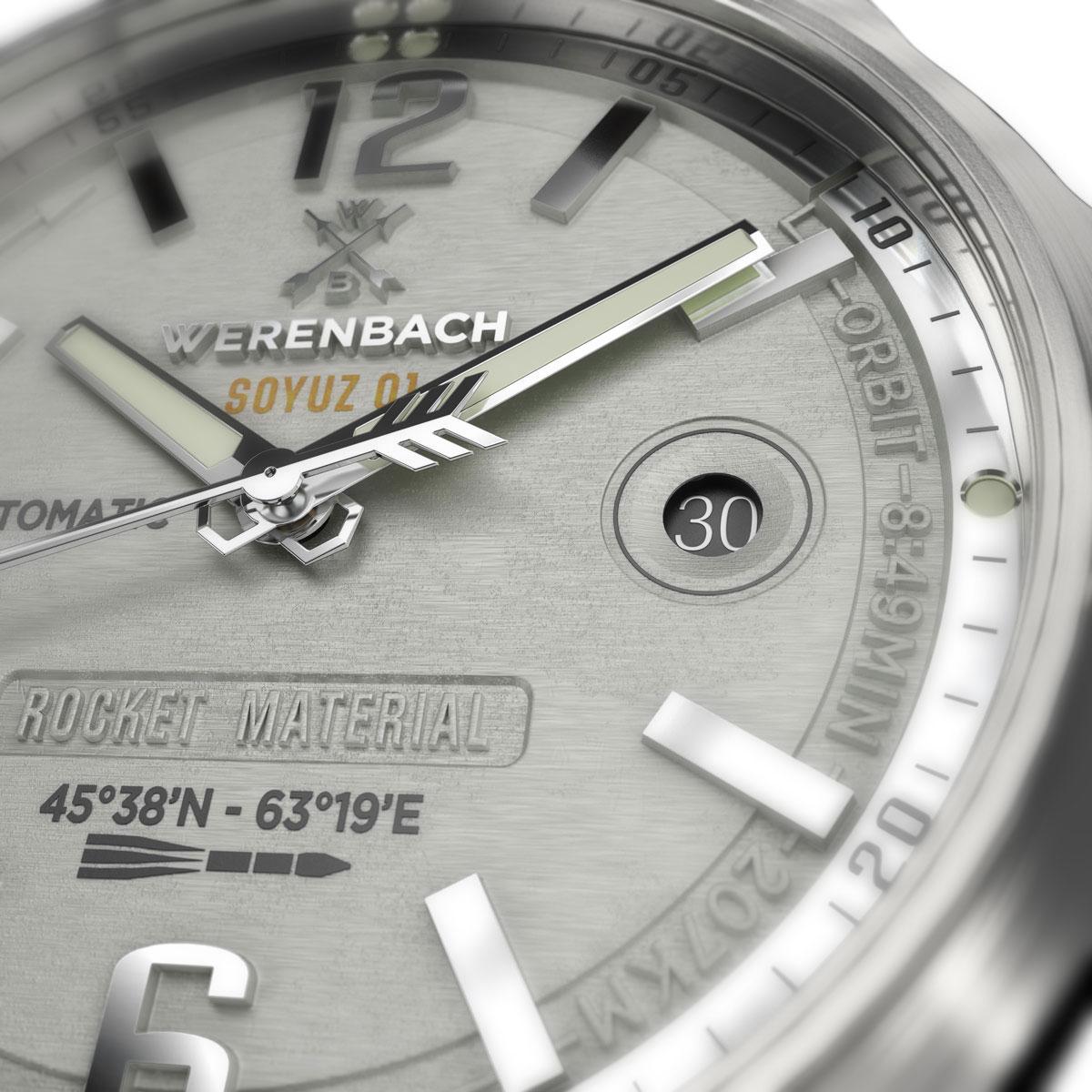 Automatik Uhr Ziffernblatt Armbanduhr Werenbach