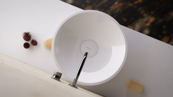 cgi rendering bathroom interior sink ceramic