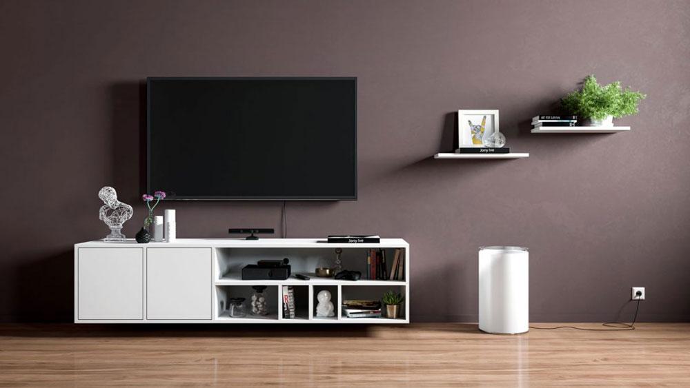 Interior Design Berlin TV Regal Wohnzimmer