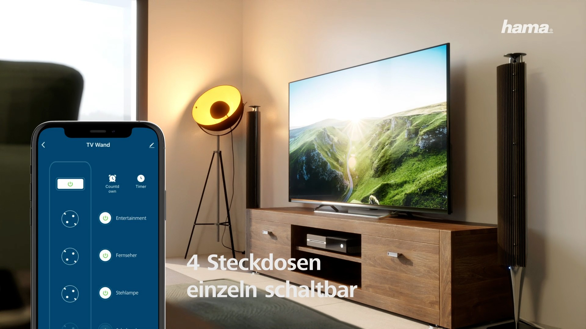 Motion Design Agentur hama- Smart Steckdose
